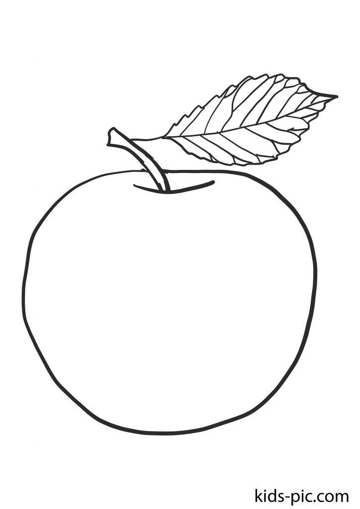 шаблон яблук для вирізання з паперу роздрукувати