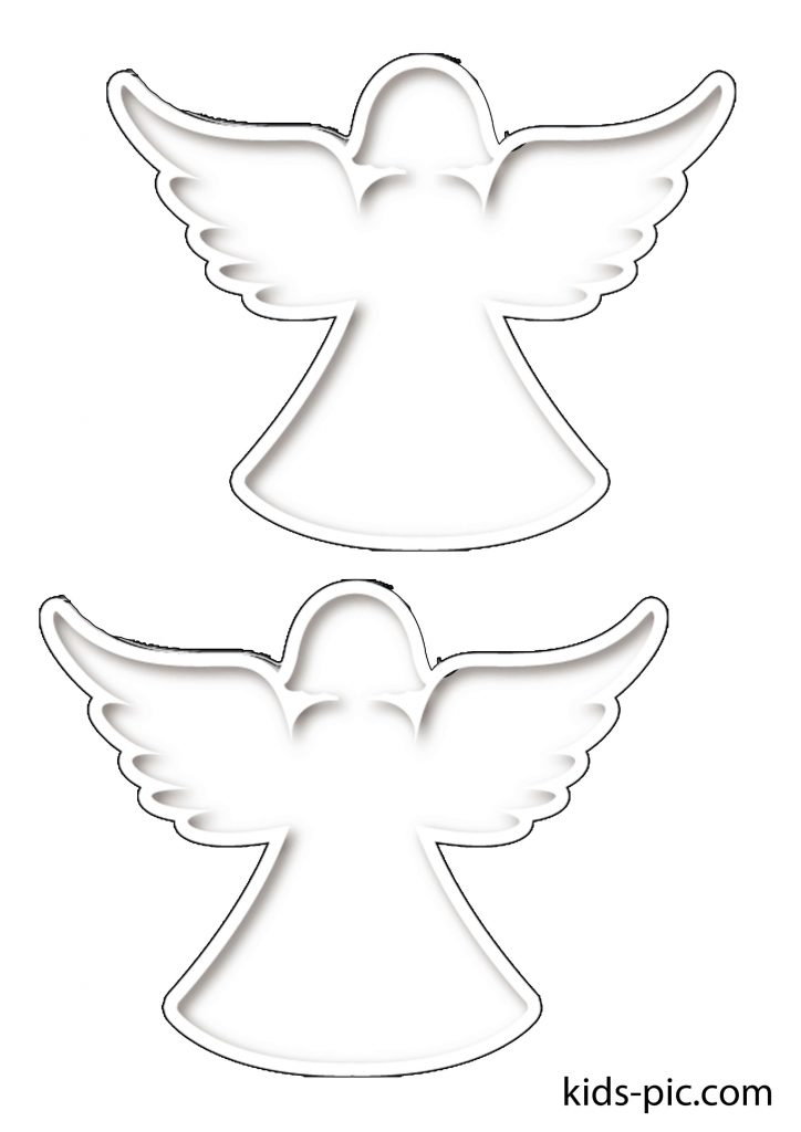 free printable angel patterns to cut out