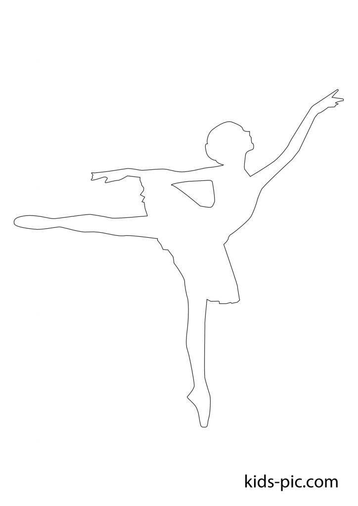 балерина з паперу вирізати скачати
