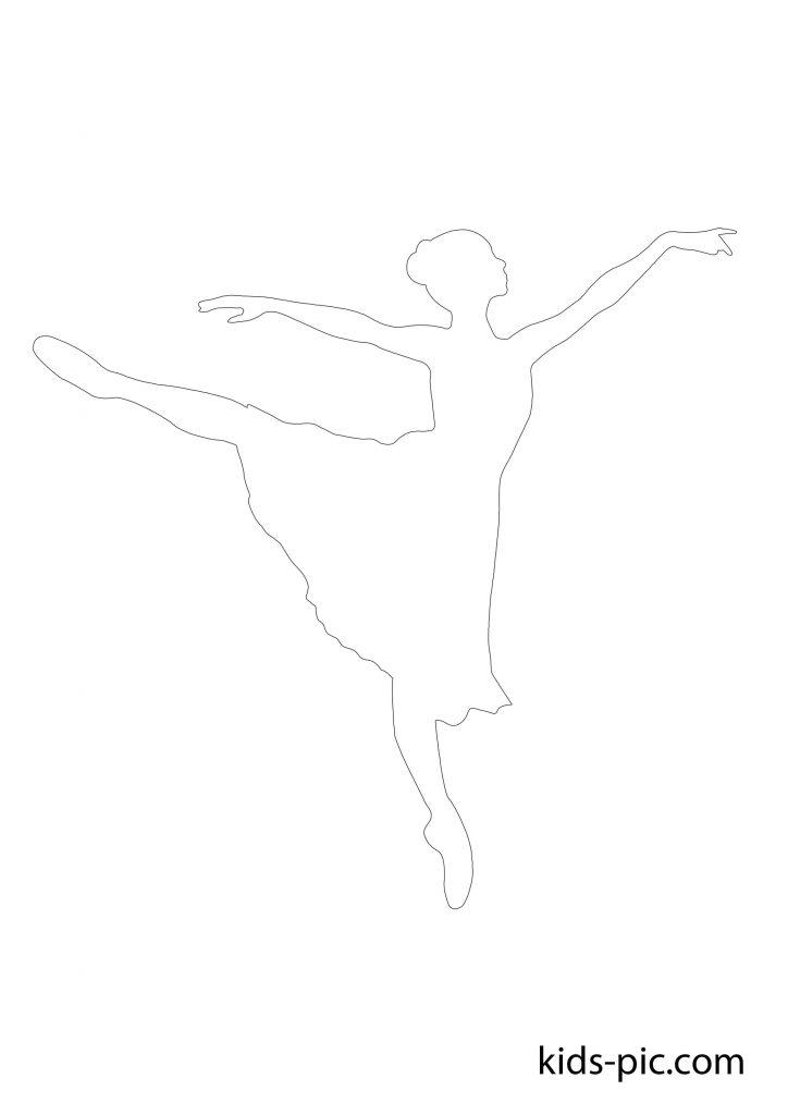 балерина вирізати шаблон безкоштовно