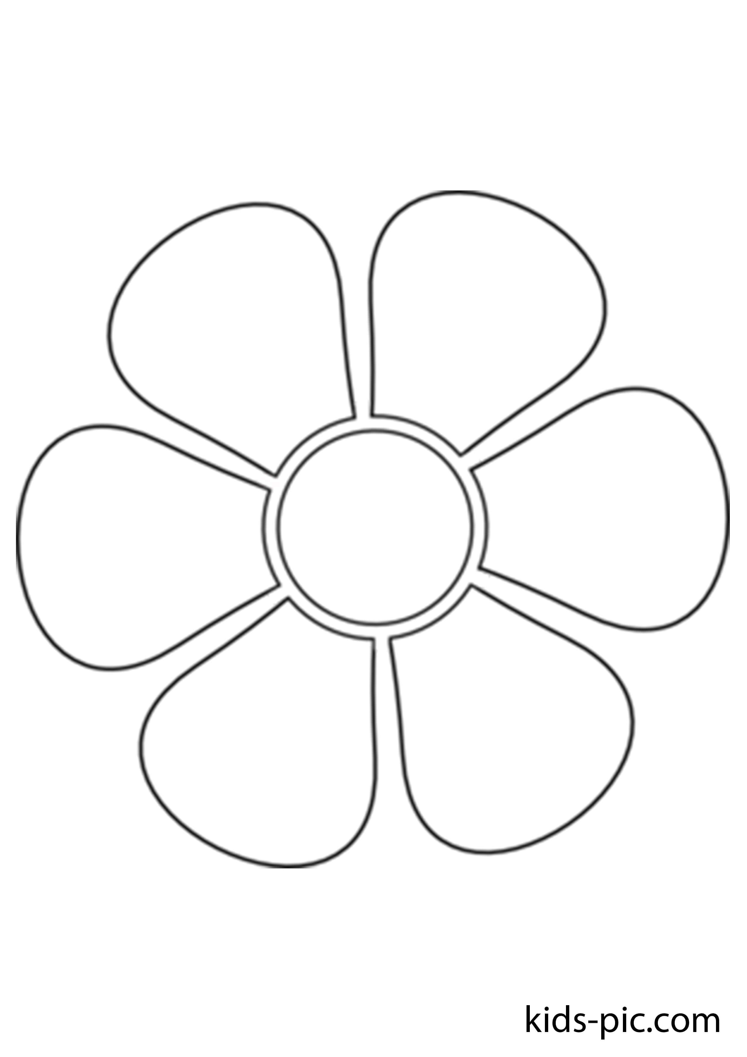 Картинка с ромашкой шаблон