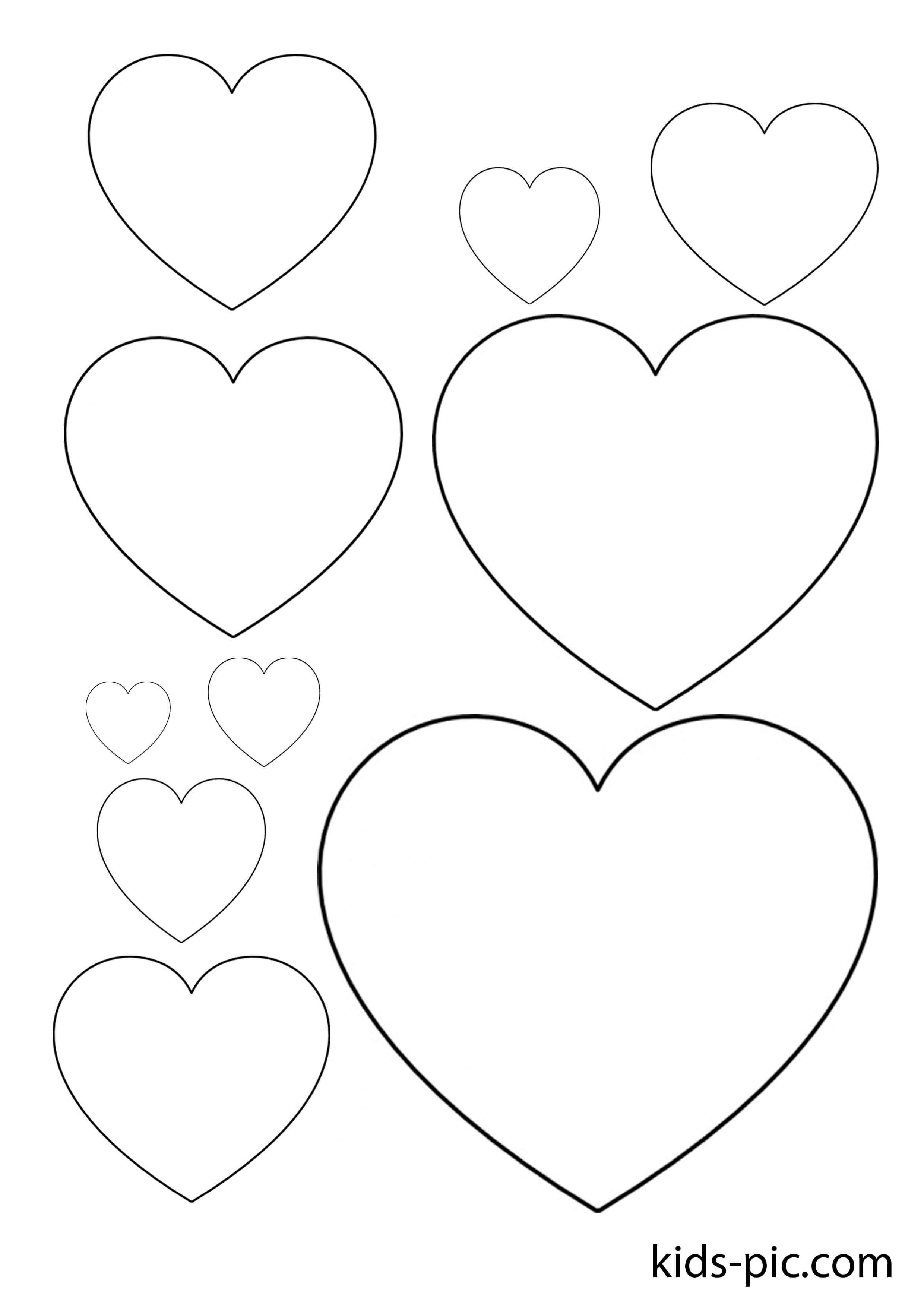 Трафарет сердечко для вырезания из бумаги шаблоны, надписью массаж