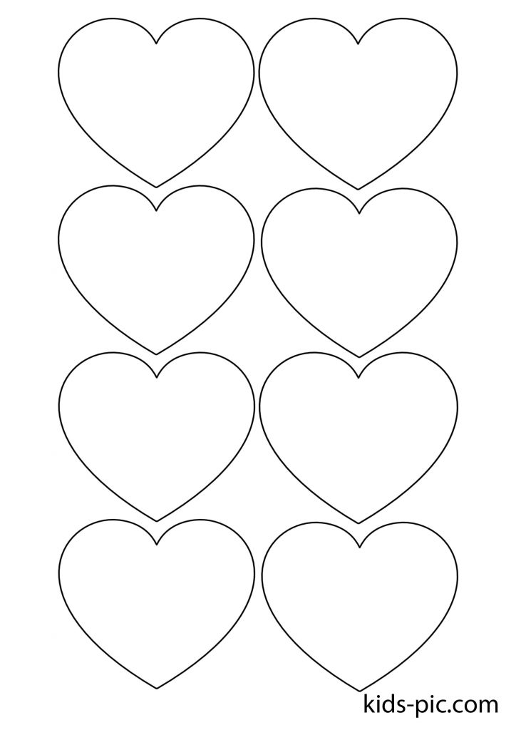 paper hearts cut out