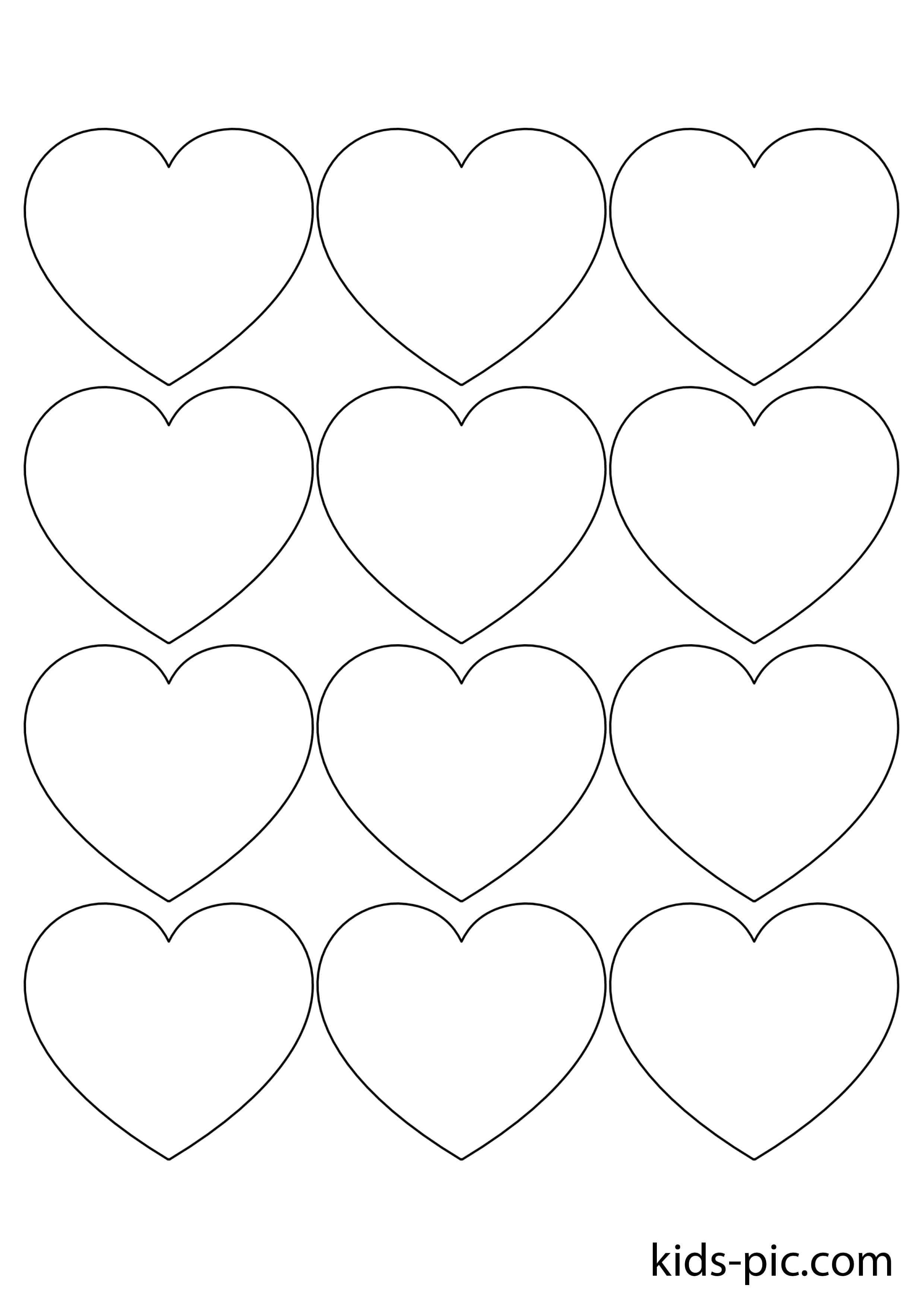 Деньгам, шаблон картинки с сердечками