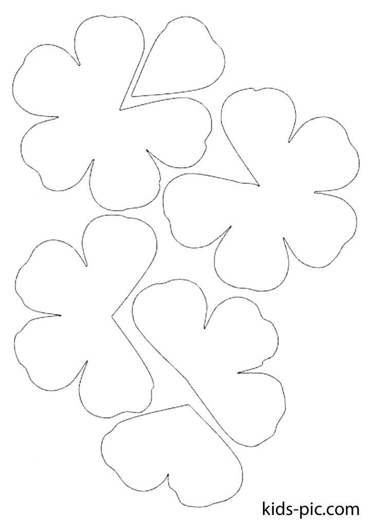 красивый шаблон розы для вырезания из бумаги скачать