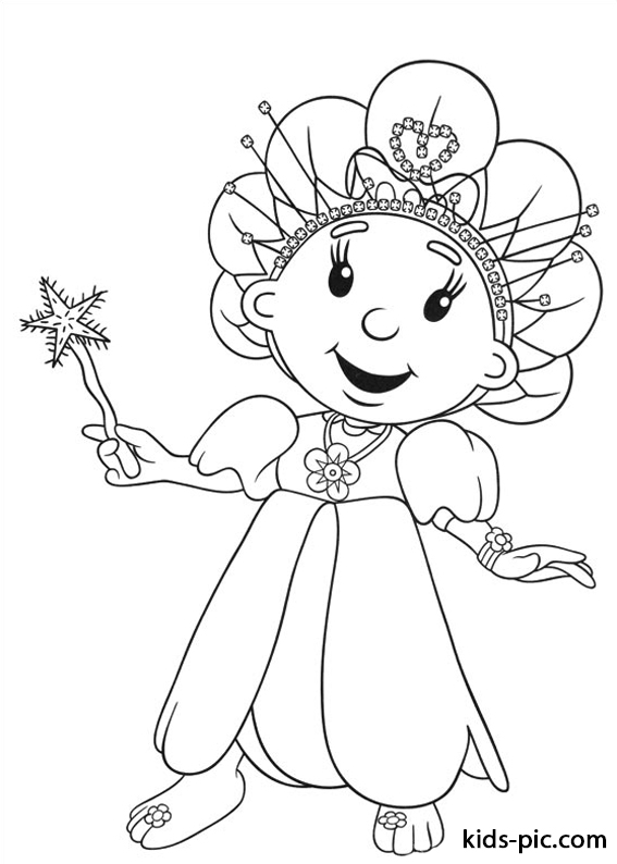 Fifi and the Flowertots printable coloring pages -2