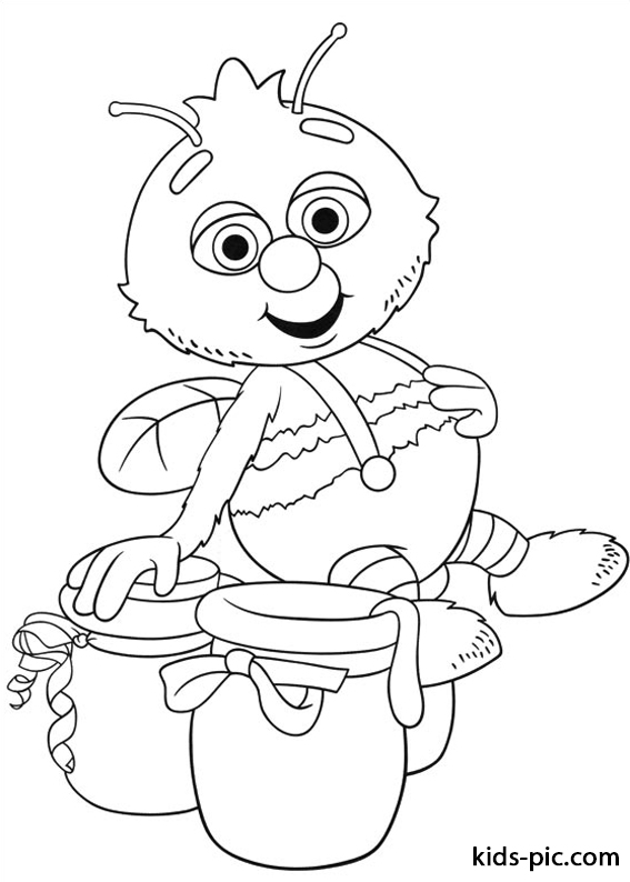 fifi and the flowertots colouring -3