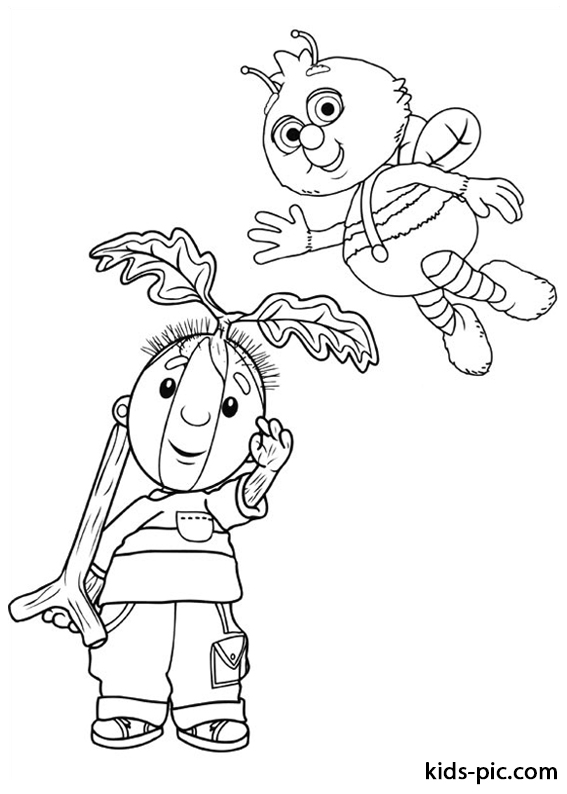Fifi and the Flowertots coloring pages free printable -2