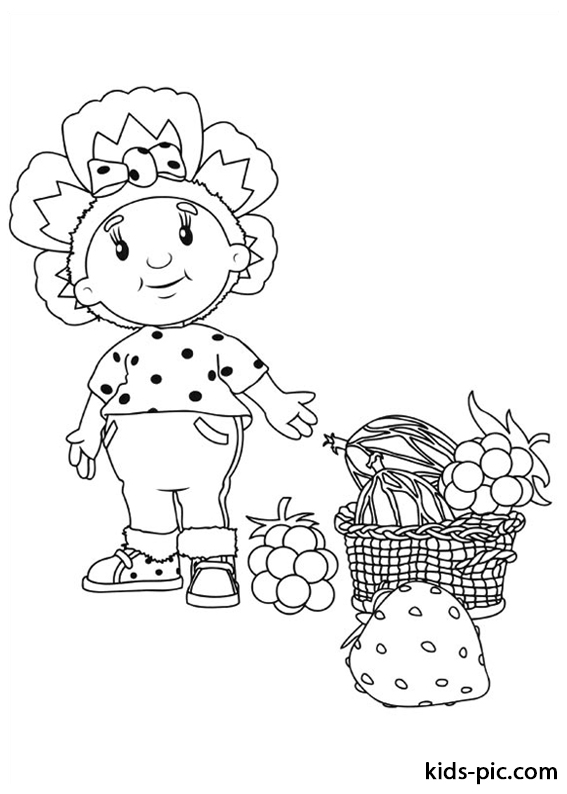 Fifi and the Flowertots coloring pages free