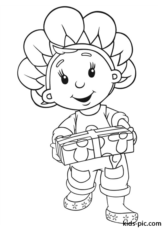Fifi and the Flowertots coloring pages -4