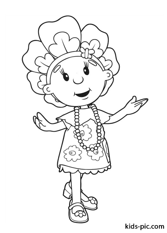 Fifi and the Flowertots coloring pages -2