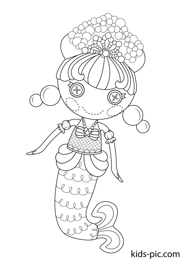 Printable Lalaloopsy Coloring Pages Kids Pic Com
