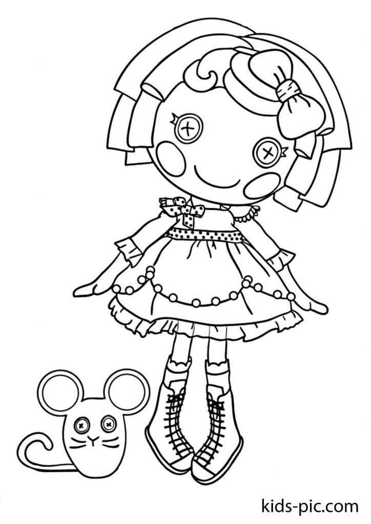 розмальовки ляльки лалалупсі з мишкою скачати