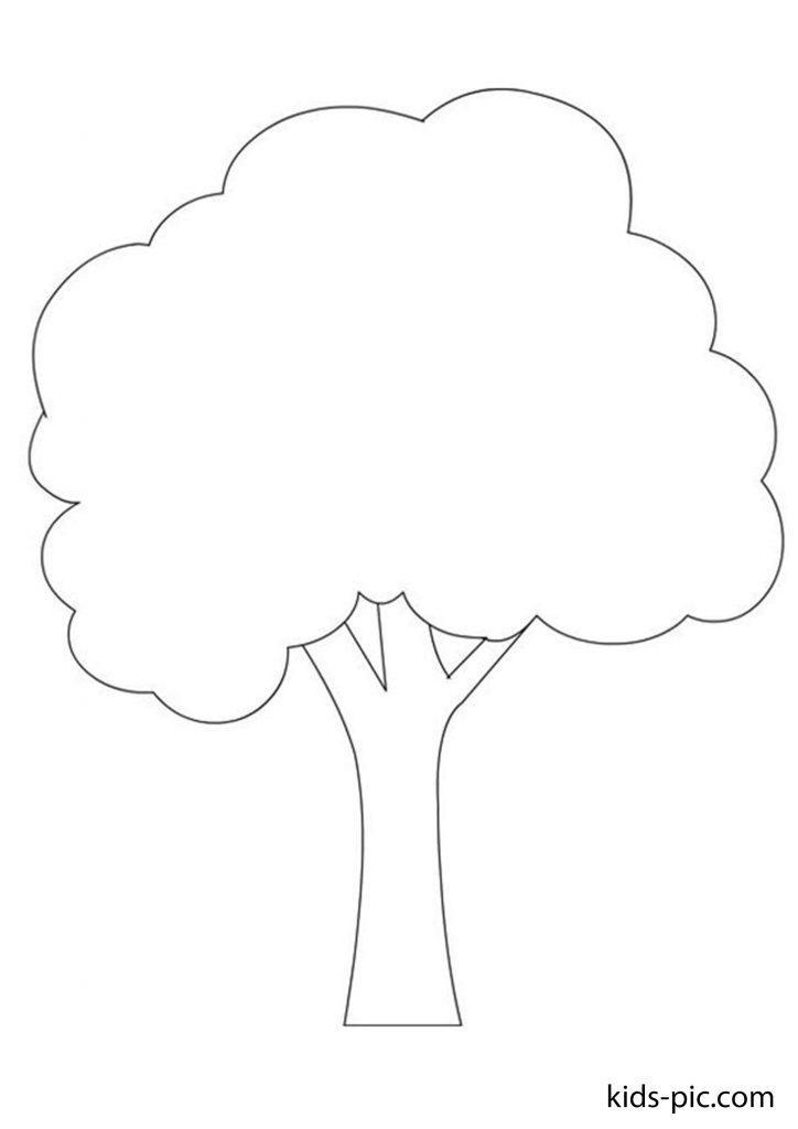 шаблони дерев для вирізання з паперу роздрукувати