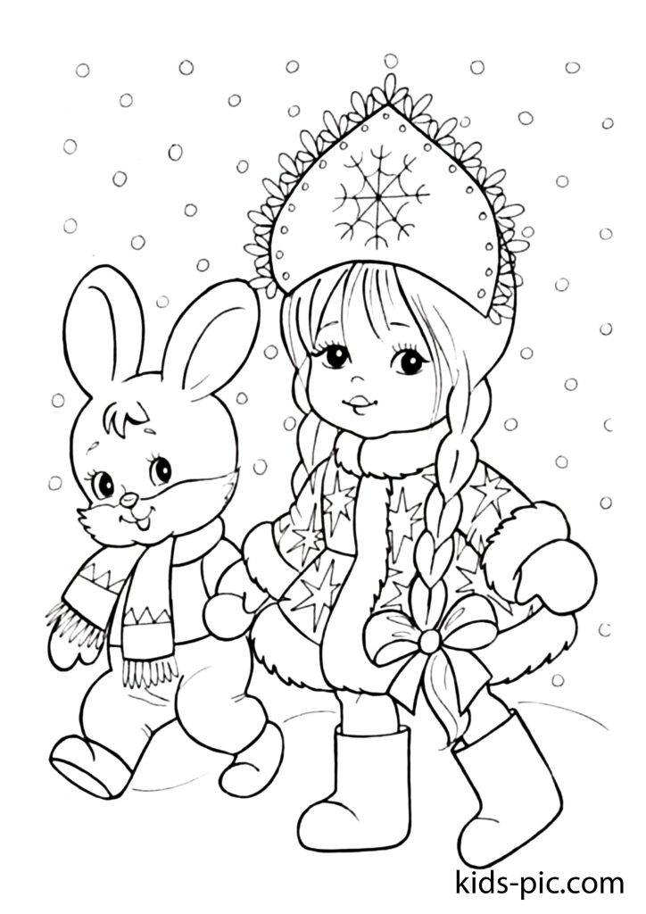 christmas coloring pages easy