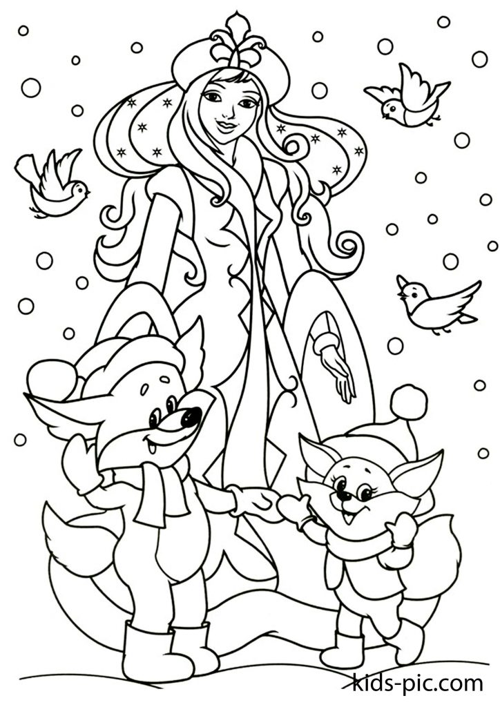 christmas colouring pages online