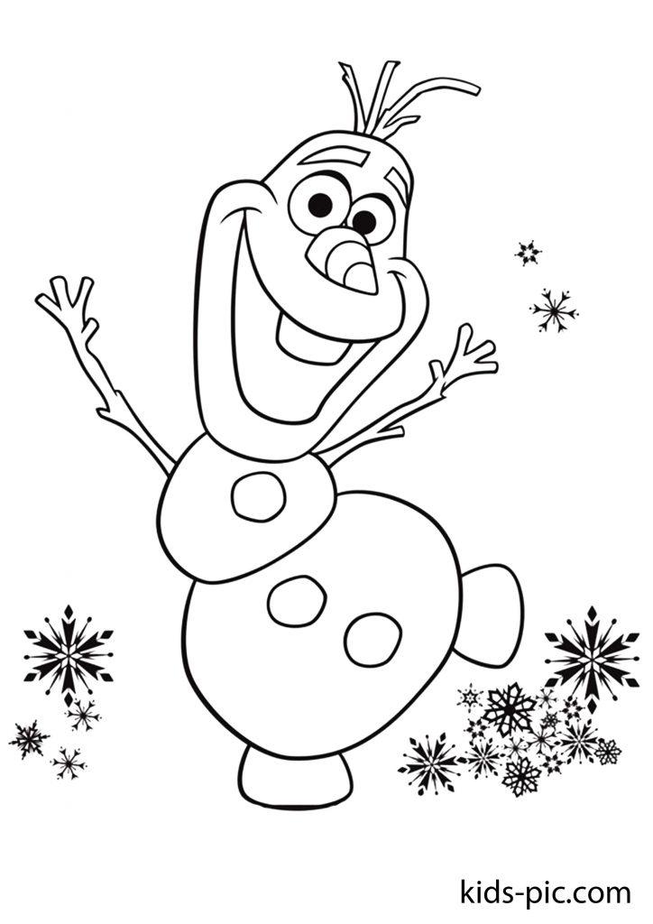 frozen coloring pages disney