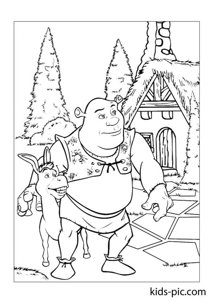 fiona princess coloring page