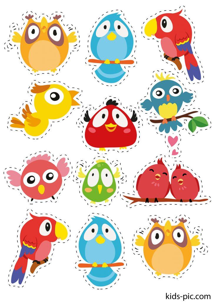 birds on a wire stencil