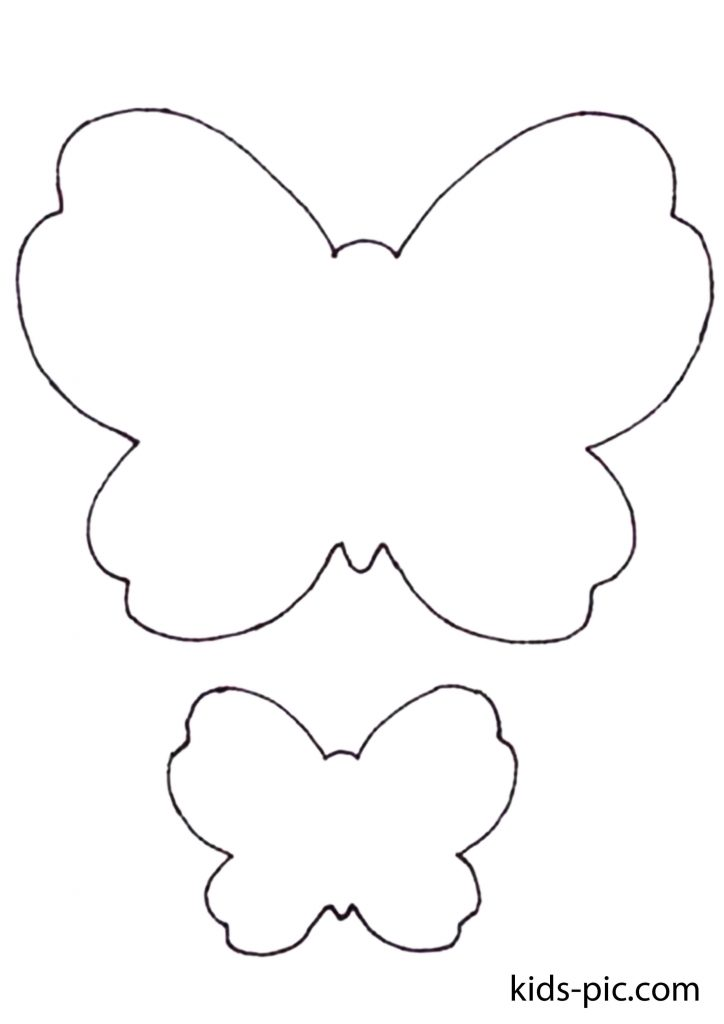 Free Butterfly Cut Out Template