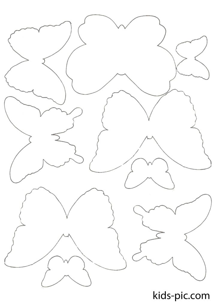Butterflies Cut Out Shapes