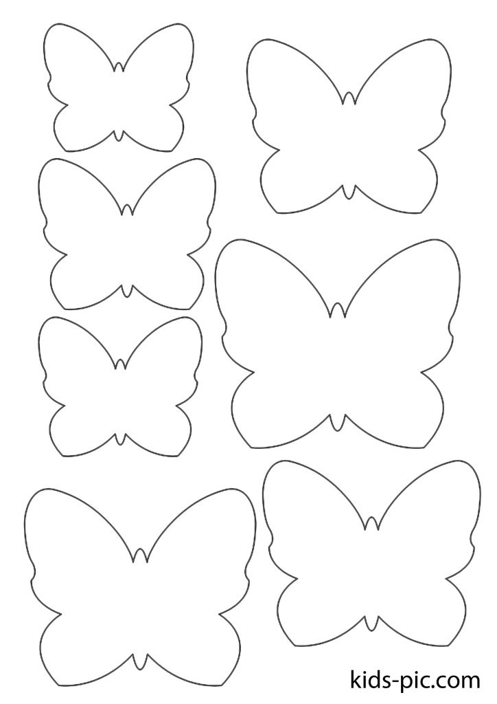 How to Cut Out Butterflies
