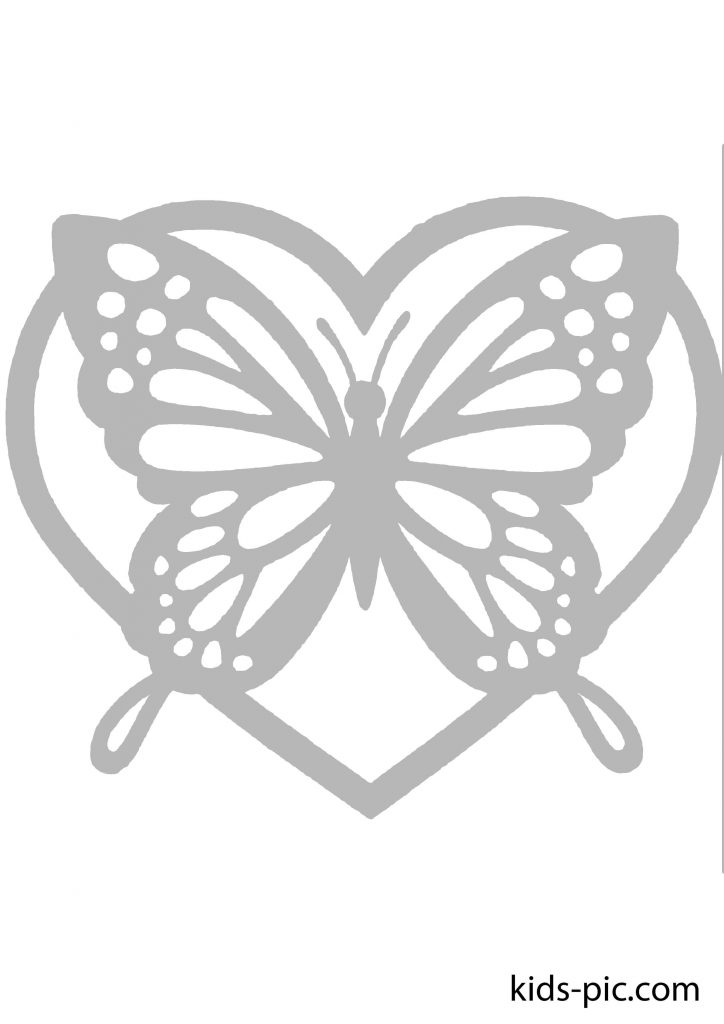 Butterfly Template Cut Out