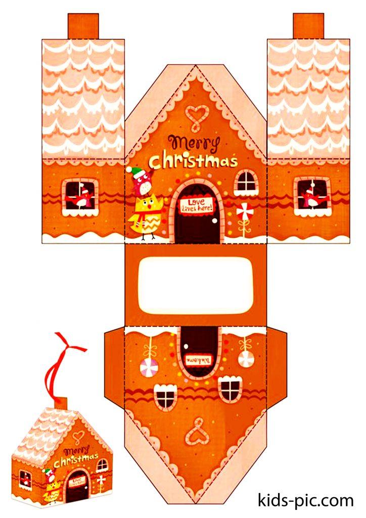 gingerbread house printouts