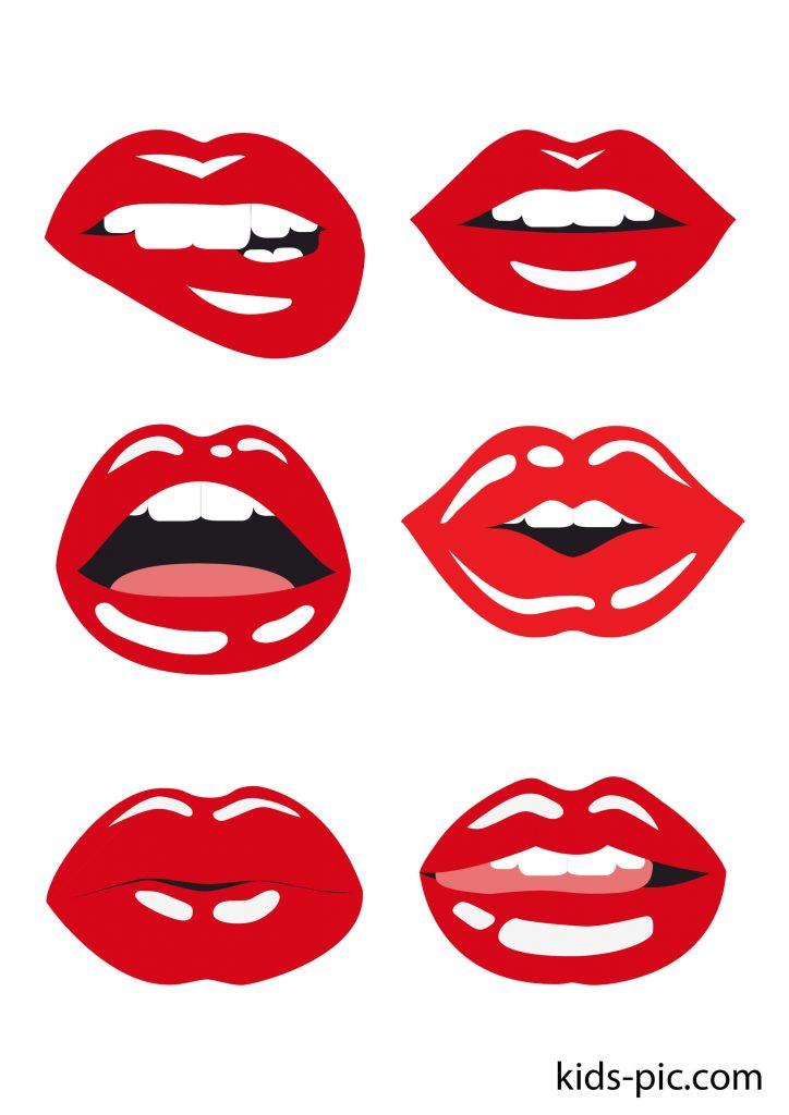 stencil lip cutout