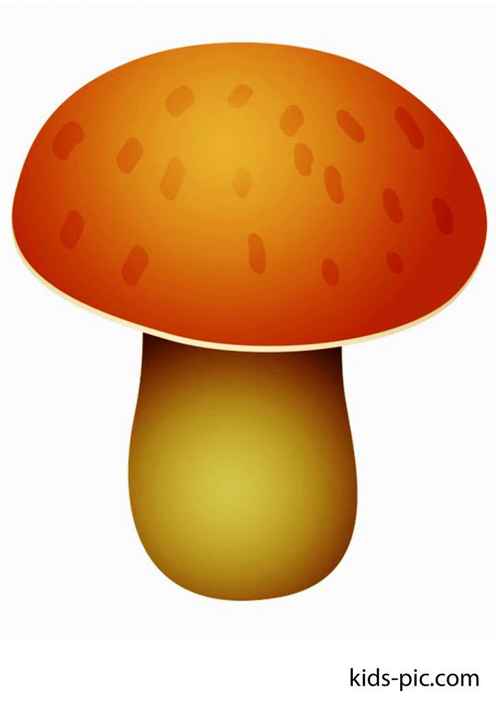шаблоны большого гриба для вырезания из бумаги распечатать картинки