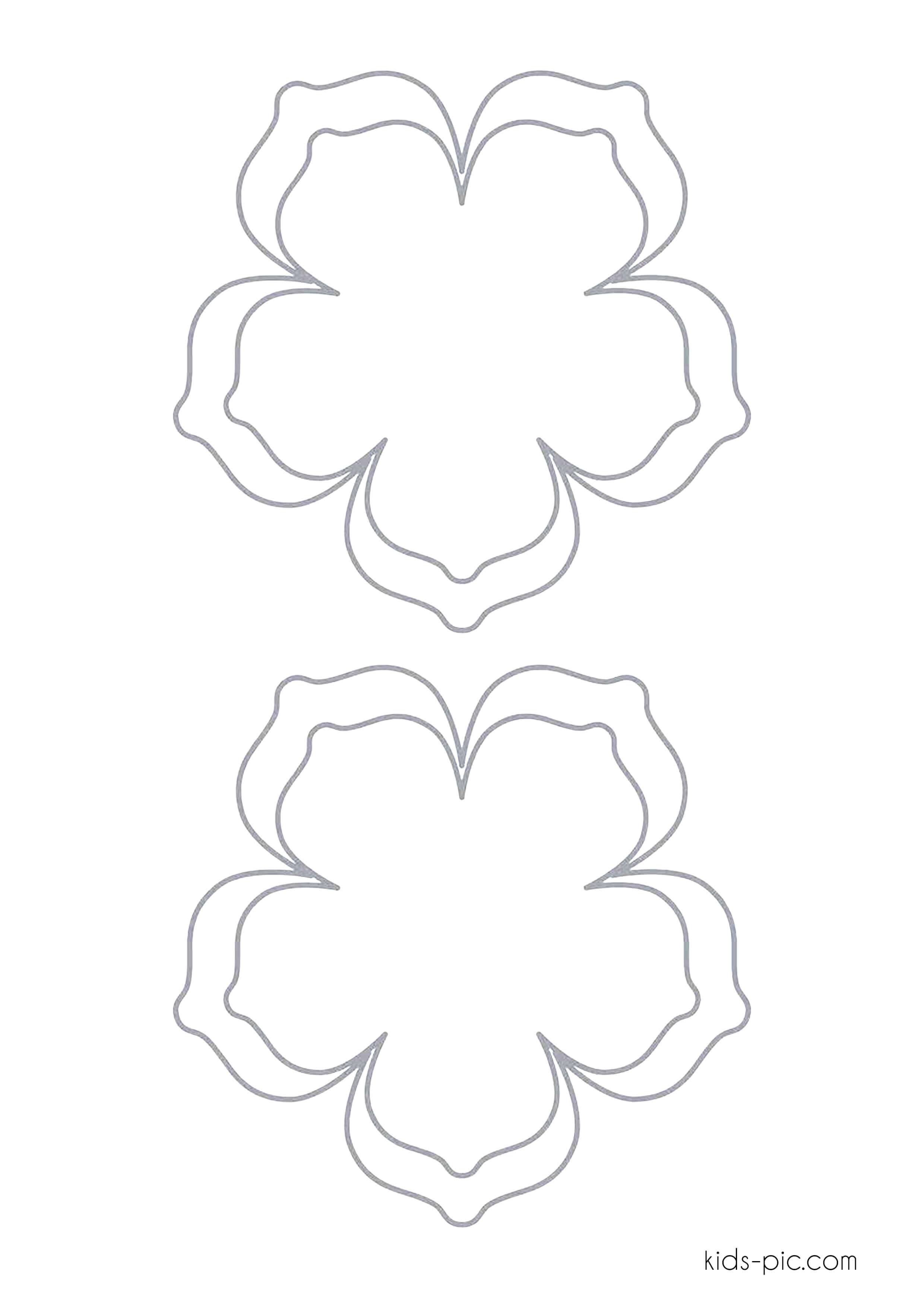 wedding bell cut outs