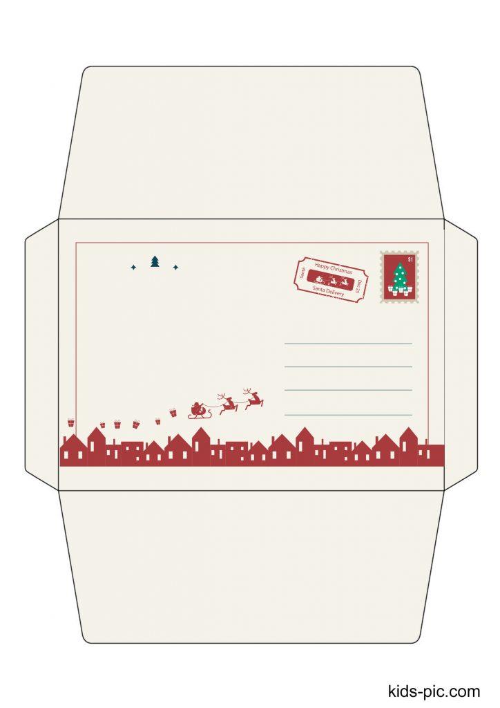 santa letter printable template