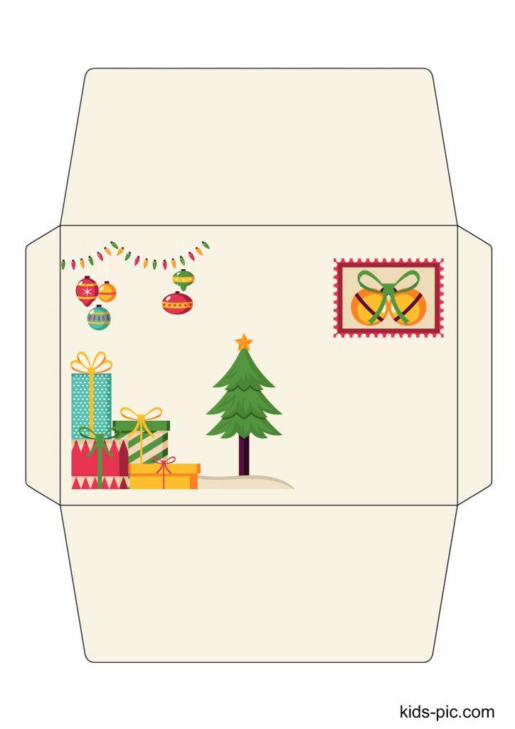 letter from santa envelope template printable