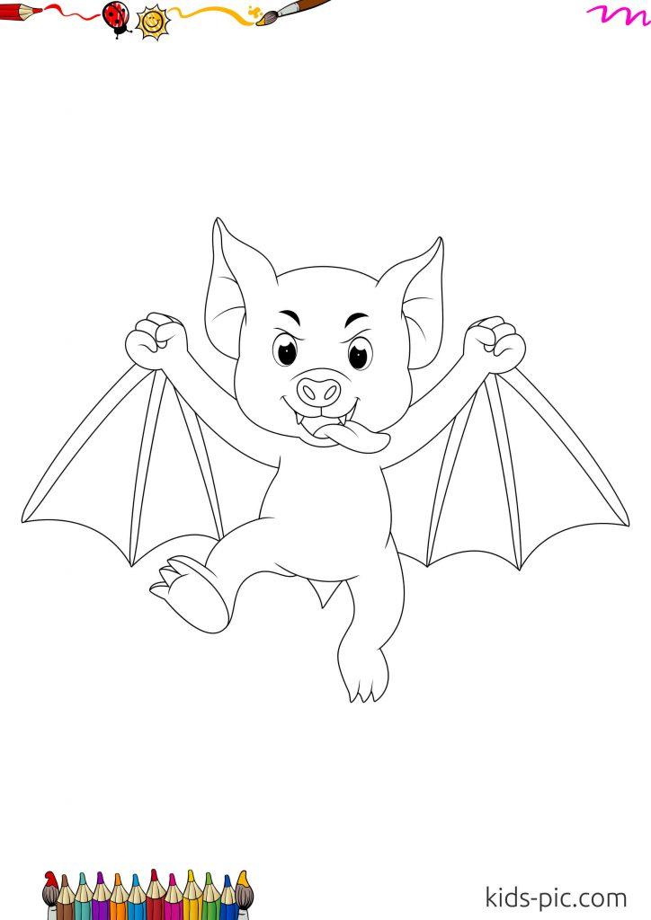 pic of halloween bats