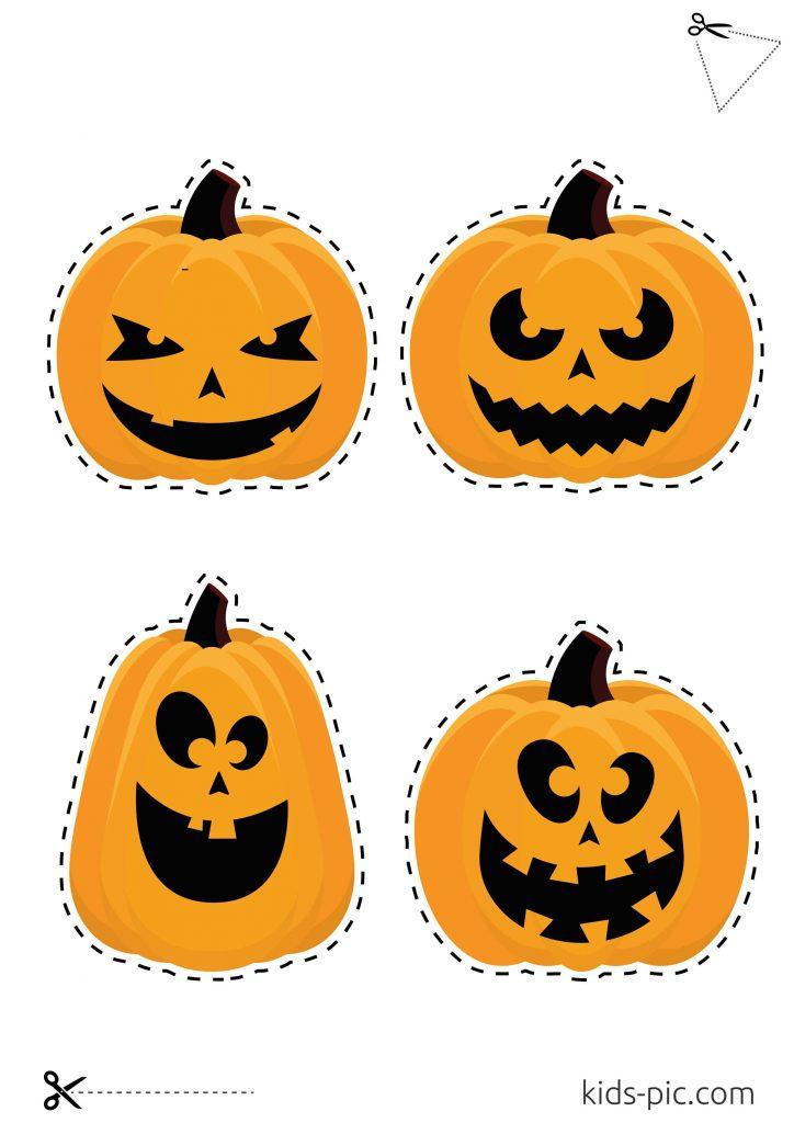pumpkin template to cut out
