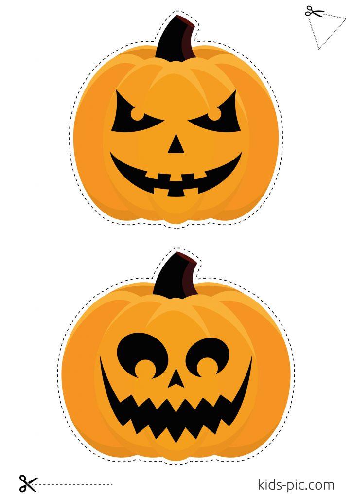 printable template of a pumpkin
