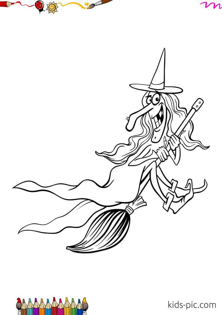 halloween witch figure