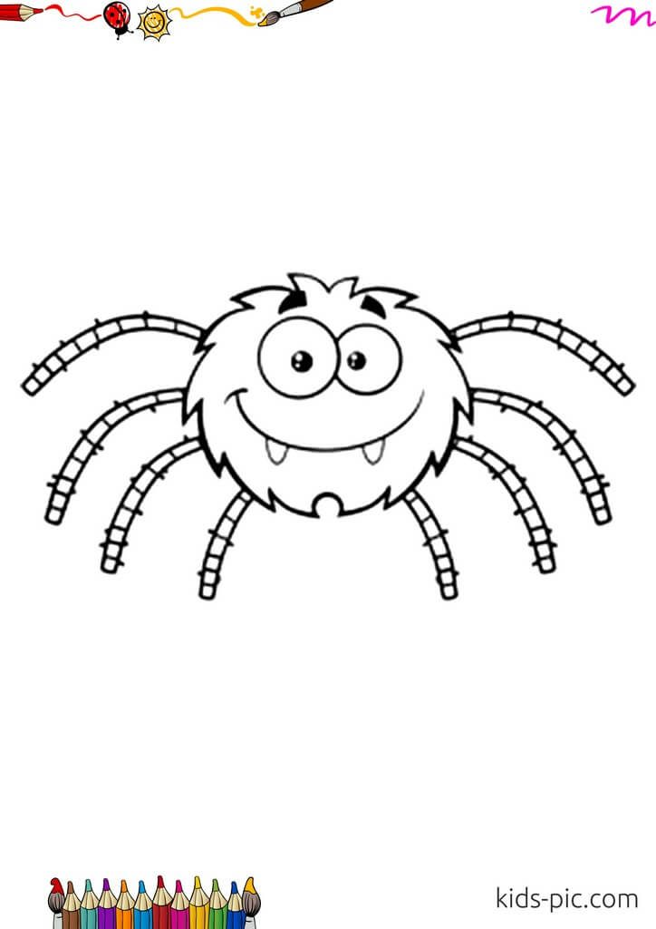 паук украшение на Хэллоуин