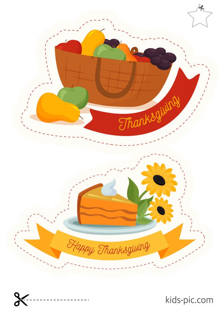 thanksgiving decorations out of paper